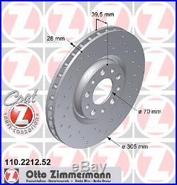 Bremsscheibe (2 Stück) SPORT-BREMSSCHEIBE COAT Z Zimmermann 110.2212.52
