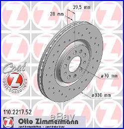 Bremsscheibe (2 Stück) SPORT-BREMSSCHEIBE COAT Z Zimmermann 110.2217.52