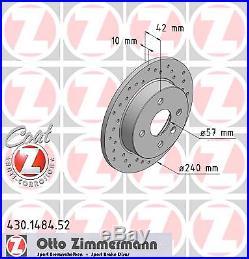 Bremsscheibe (2 Stück) SPORT-BREMSSCHEIBE COAT Z Zimmermann 430.1484.52