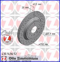 Bremsscheibe (2 Stück) SPORT-BREMSSCHEIBE COAT Z Zimmermann 430.1496.52