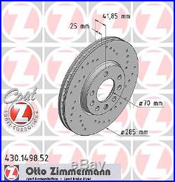 Bremsscheibe (2 Stück) SPORT-BREMSSCHEIBE COAT Z Zimmermann 430.1498.52