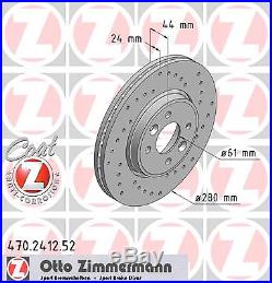 Bremsscheibe (2 Stück) SPORT-BREMSSCHEIBE COAT Z Zimmermann 470.2412.52