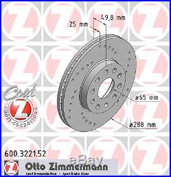Bremsscheibe (2 Stück) SPORT-BREMSSCHEIBE COAT Z Zimmermann 600.3221.52