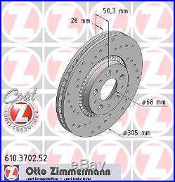 Bremsscheibe (2 Stück) SPORT-BREMSSCHEIBE COAT Z Zimmermann 610.3702.52