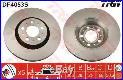 Bremsscheibe (2 Stück) TRW DF4053S