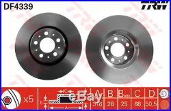 Bremsscheibe (2 Stück) TRW DF4339