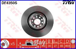 Bremsscheibe (2 Stück) TRW DF4350S