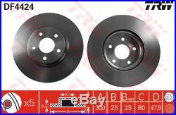 Bremsscheibe (2 Stück) TRW DF4424