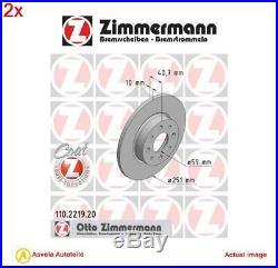 Bremsscheibe Für Alfa Romeo Mito 955 955 A8 000 955 A1 000 Zimmermann 518 05 559