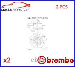 Bremsscheiben Satz Paar Hinten Brembo 08950211 2pcs P Neu Oe Qualität