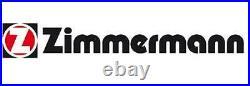 Bremsscheiben Satz Paar Zimmermann 110221752 2pcs P Für Alfa Romeo Giulietta