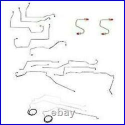 Complete Brake & Fuel Line Kit Fits Buick LeSabre 1997-1999-CBF0010SS