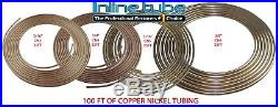 Copper Nickel Brake Fuel Coil Tubing Kit 3/16 1/4 5/16 3/8 CN3 CN4 CN5 CN6 100ft