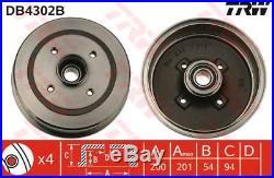 Db4302b Trw Bremstrommel Hinterachse