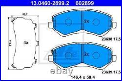 Der Bremsbelagsatz, Die Scheibenbremse Für Chrysler Jeep Voyager IV Rg Rs Edz