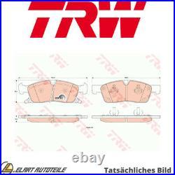 Der Bremsbelagsatz, Die Scheibenbremse Für Jeep Grand Cherokee IV Wk Wk2 Exf Esg