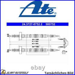 Der Kabel, Die Feststellbremse Für Opel Vauxhall Astra G Cabriolet T98 Y 22 Dtr