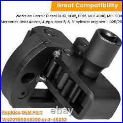For Detroit Diesel DD13/15/16 Engine Brake Adjustment+Barring+Fuel Line Socket