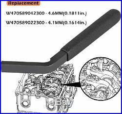 For Detroit Diesel DD13/15/16 Engine Brake Adjustment Tool+19MM Fuel Line Socket