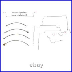 For Pontiac Sunfire 2000-2002 Fuel Line Kit -XGL0001SS