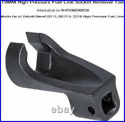 High Pressure Fuel Line Socket+Engine Brake Adjustment Tools+Engine Barring Tool