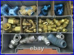 Indy Race Car Aviation Airplane Aero Oil Water Brake Fuel Line An Fittings Drift