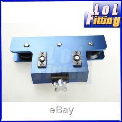 Metal Coiled Brake&Fuel Line Tubing Tube Straight Straightener Aluminum Blue
