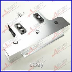Metal Coiled Brake & Fuel Line Tubing Tube Straight Straightener Aluminum Silver
