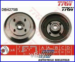 NEU TRW TRW Bremstrommel DB4275B für Ford Focus Focus Stufenheck Focus Kombi