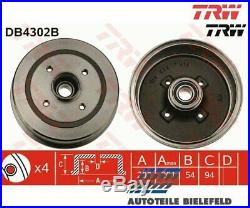 NEU TRW TRW Bremstrommel DB4302B für Opel Corsa C Corsa C Kasten