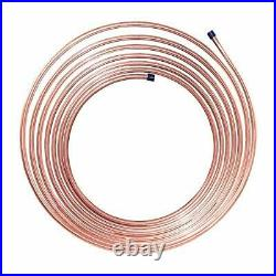 Nickel/Copper Brake/Fuel/Transmission Line Tubing Coil 3/8 x 25