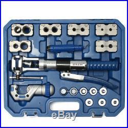Pipe WK-400 Hydraulic Pipe Expander Set Brake Line Flaring Tools Fuel Pipe KIt