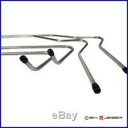 Porsche 914 Stainless Steel Fuel Line set (75-76)