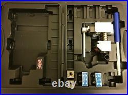 Professional Flaring Tool Brake Pipe Tube Flare Kit 2 Dies Fuel line 3/16 1/4