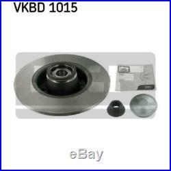 SKF 2x Bremsscheiben Voll VKBD 1015