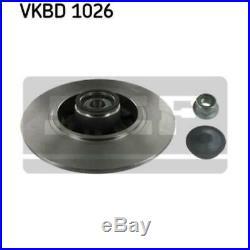 SKF 2x Bremsscheiben Voll VKBD 1026
