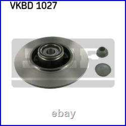 SKF 2x Bremsscheiben Voll VKBD 1027