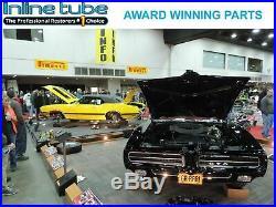 Streetrod Hotrod 3/8 Fuel Line Kit Set Stainless Steel Dodge Ford Chevy GM Hose