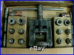 Sykes Pickavant 230 Brake & Clutch Pipe & Fuel Line Double Lap Flaring Tool Kit