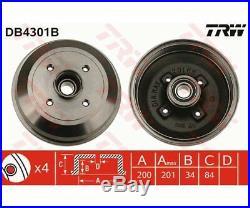 TRW Brake Drum DB4301B