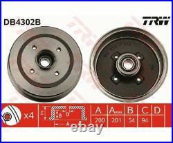 TRW Brake Drum DB4302B