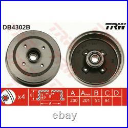 TRW DB4302B Bremstrommel