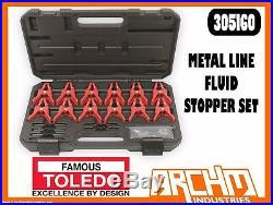 Toledo 305160 Metal Line Fluid Stopper Set Clamps Fuel Brake Transmission