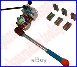 Vise Mount MM SAE Brake Fuel Line Flare Flaring Tool Single Double Bubble Flare