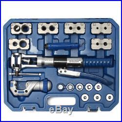 WK-400 Universal Hydraulic Expander & Flaring Tool Brake Pipe Fuel Line Kit