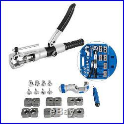WK-400 Universal Hydraulic Expander & Flaring Tool Brake Pipe Fuel Line Kit 5-22