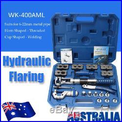 WK-400 Universal Hydraulic Expander & Flaring Tool Brake Pipe Fuel Line Steel AU