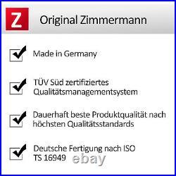 ZIMMERMANN SPORT BREMSSCHEIBEN MIT ABE 2 STÜCK Ø345 mm VORNE AUDI A4 S4 A5 S5 Q5