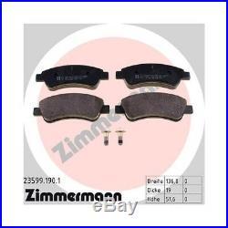 Zimmermann Bremsscheiben Ø266mm + Beläge Citroen Berlingo C2-5 Ds3 Xsara Vorne