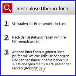 Zimmermann Bremsscheiben Set vorneØ345 + hintenØ330 + Bremsbeläge Audi A5 Q5